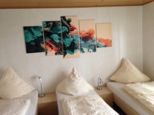 Monteurszimmer Ferienwohnung Lippstadt Dreibettzimmer