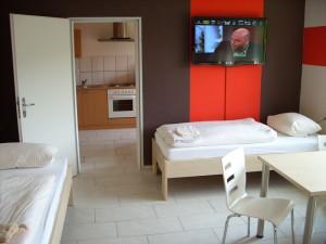 Monteur-zimmer Lippstadt Ferienwohnungen Lippstadt Unterkunft im Schlafzimmer